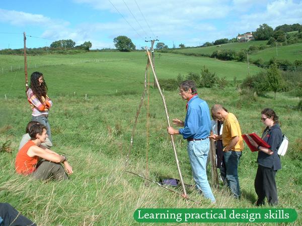 patrick permaculture design course aframe