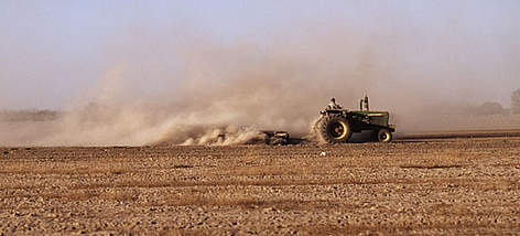 dry ploughing